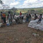 Constructing Kwale's first earthbag house